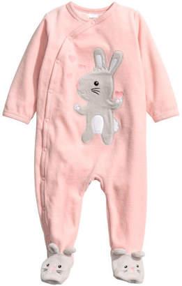 H&M Velour Pajamas - Pink