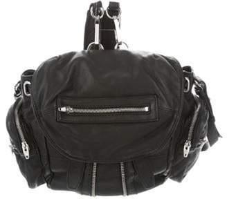 Alexander Wang Leather Marti Backpack Black Leather Marti Backpack