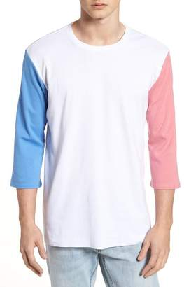 The Rail Contrast Sleeve T-Shirt