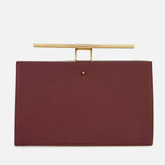 At Mybag The Volon Women S Cau Clutch Bag Wine