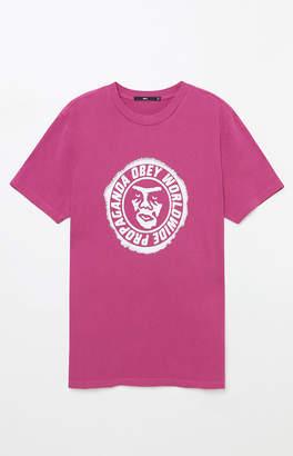 Obey Ninety-One Magenta T-Shirt