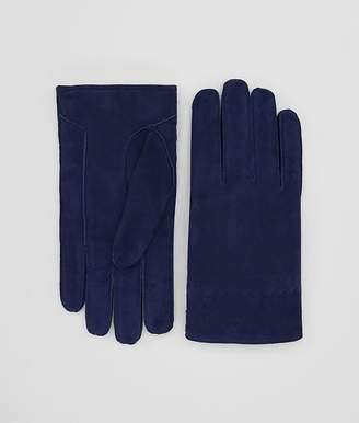 Bottega Veneta Dark Atlantic Suede Glove