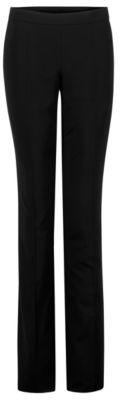 BOSS Hugo 'Tulea Side Zip' Wool Dress Pants 8 Black