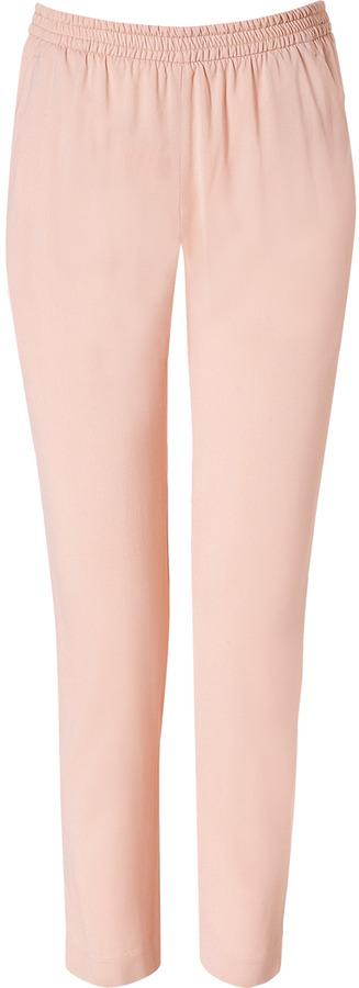 Theory Pink Nude Katla Pants