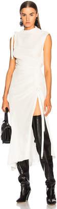 Monse Velvet Drawstring Dress