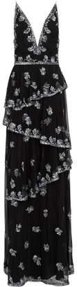 Burberry Hand-beaded Open-back Dress