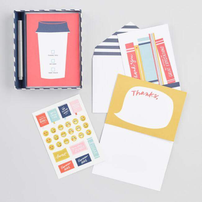 Write On Thank You Notes Set of 12