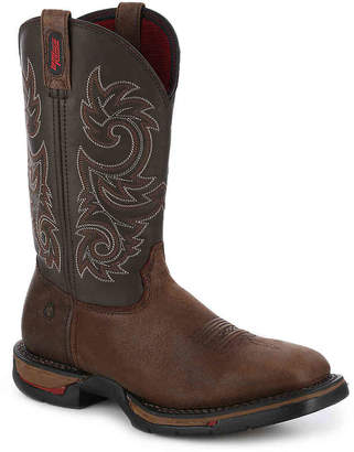 Rocky Long Range Steel Toe Cowboy Boot - Men's