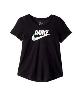 Nike Dri-FIT Dance Tee (Little Kids/Big Kids)