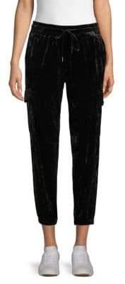 Drawstring Velvet Pants