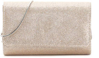 La Regale Glitter Flap Clutch - Women's