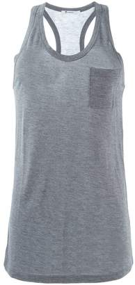 Alexander Wang chest pocket tank top