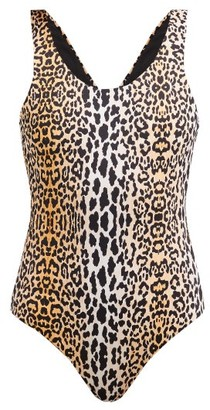 Reina Olga For A Rainy Day Leopard Print Swimsuit - Womens - Leopard