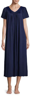 Miss Elaine COLLETTE BY Collette By Tricot Short Sleeve Long Nightgown