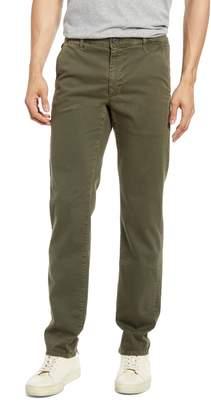 AG Jeans Marshall Textural Print Slim Fit Pants