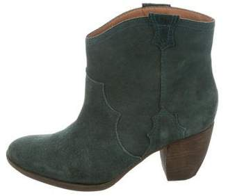 Madison Harding Suede Ankle Boots