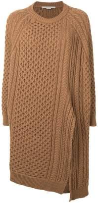 Stella McCartney asymmetric knit jumper