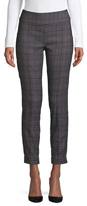 Lord & Taylor Petite Kelly Classic Plaid Pants