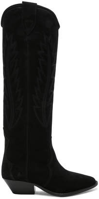 Isabel Marant Suede Denzy Boots