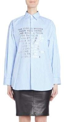 Each X Other Poem Poplin Blouse