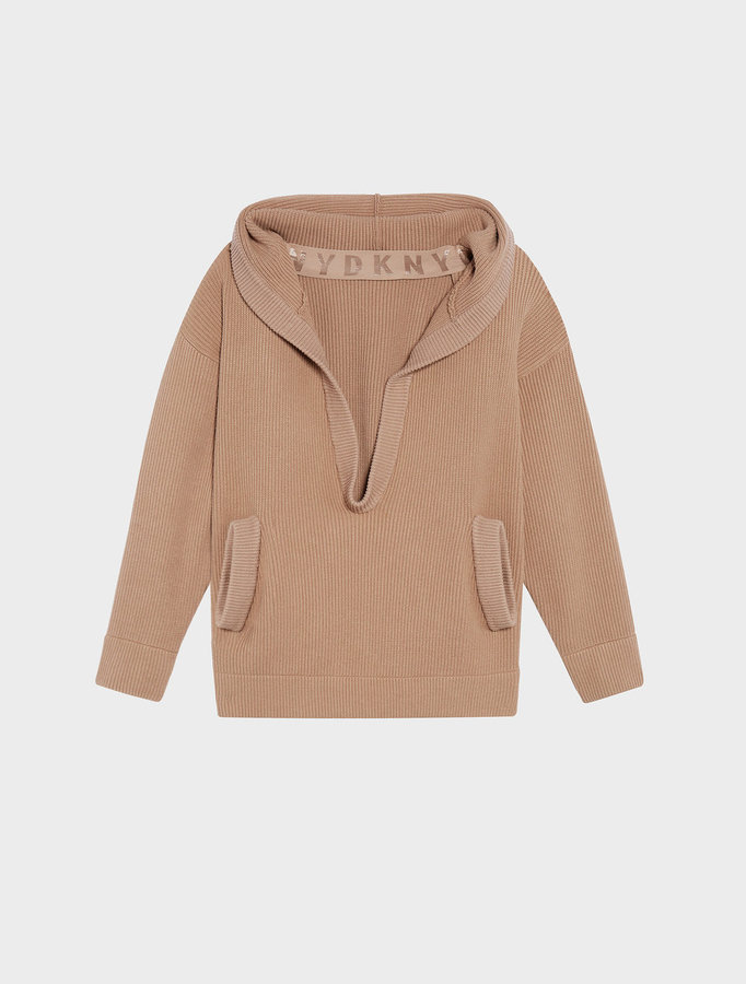 DKNYRunway Oversized Hoodie With Pockets