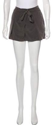 Helmut Lang Mid-Rise Mini Shorts