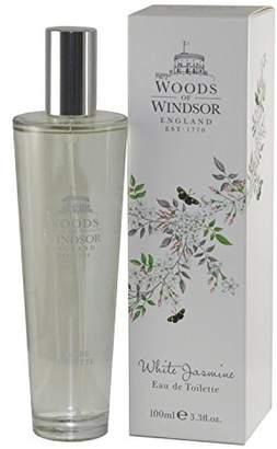 Woods of Windsor White Jasmine Eau De Toilette Spray for Women, 3.3 Ounce
