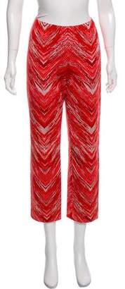 Missoni Knit Chevron Pants