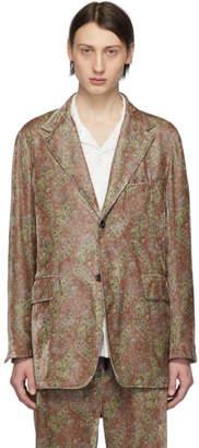Needles Green Paisley 2B Jacket
