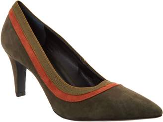 Logo By Lori Goldstein Lori Goldstein Collection Pumps with Contrast Trim Detail