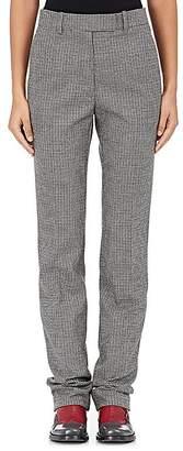Calvin Klein Women's Houndstooth Wool Trousers