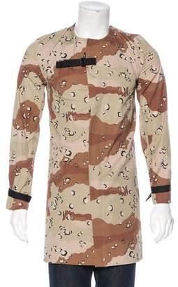 Lee Roach Camouflage Longline Jacket