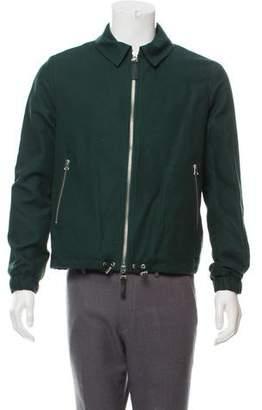 Ami Alexandre Mattiussi Woven Zip-Up Jacket