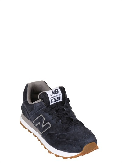 New Balance 574 Suede Running Sneakers