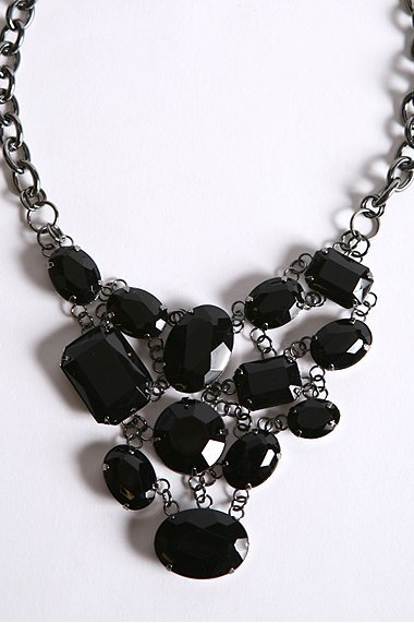 Chunky Layered Stone Necklace