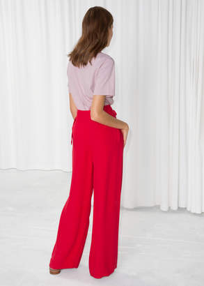BeltedSuitTrousers