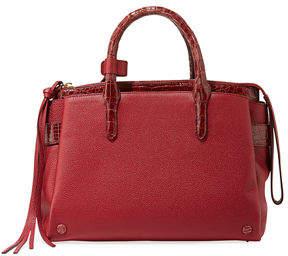 Nancy Gonzalez Cristy Small Crocodile/Leather Tote Bag