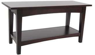 Alaterre Office Alaterre Solid Wood Shaker Cottage Bench