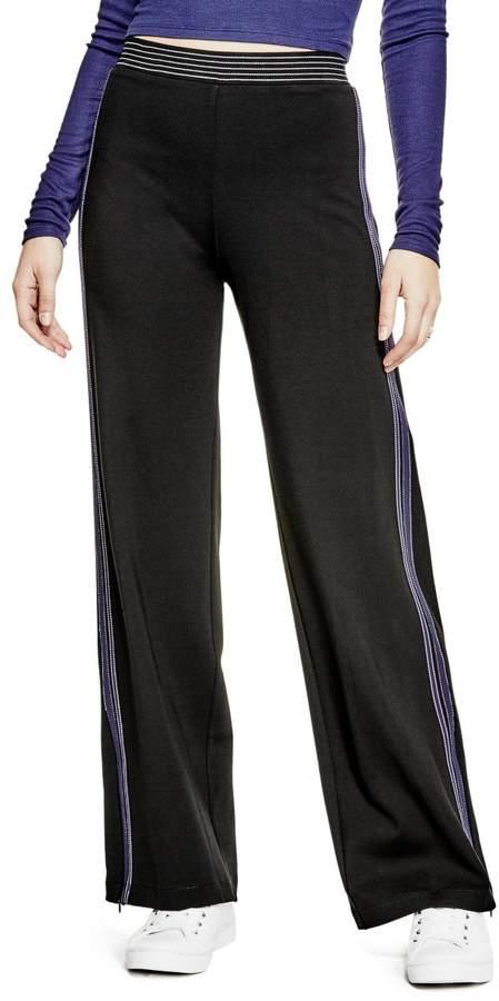 GUESS Women's Beda Wide Leg Pants