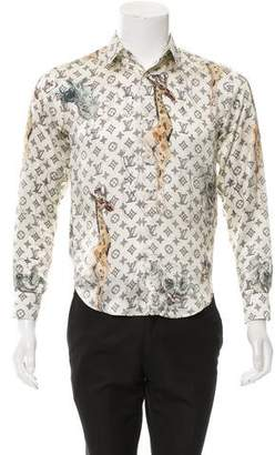 Louis Vuitton 2017 Chapman Brothers Silk Shirt