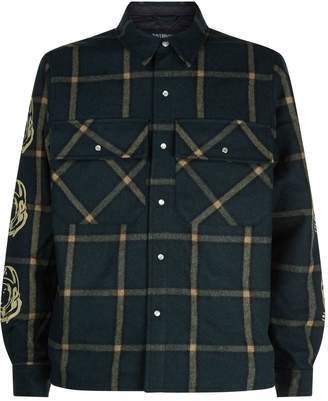 Billionaire Boys Club Quilted Check Overshirt