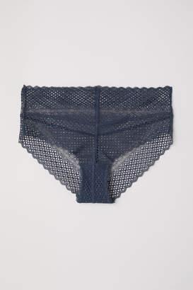 H&M Lace Briefs - Blue