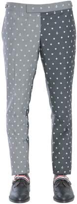 Thom Browne Low Waist Skinny Trousers