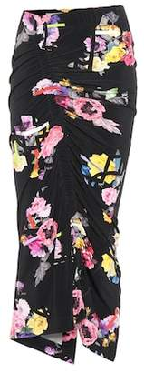 Preen by Thornton Bregazzi Cosmia floral-printed skirt
