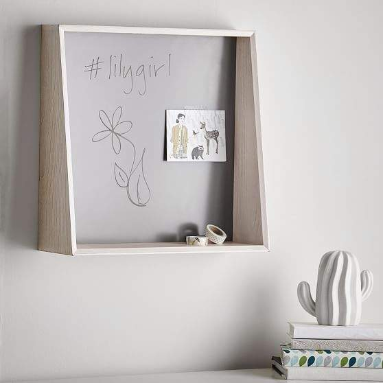 Cubby System Dry Erase Board