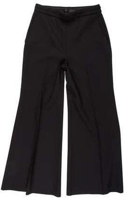 Calvin Klein Collection High-Rise Flared Pants