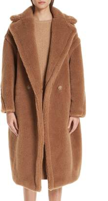 Max Mara Teddy Bear Icon Faux Fur Coat