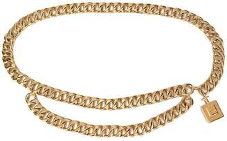 Chanel Pre-Owned perfume bottle chain belt