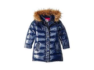 Appaman Kids Long Down Coat with Faux Fur Hood (Toddler/Little Kids/Big Kids)