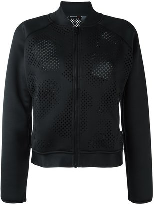 Reebok perforated detailing jacket $89.05 thestylecure.com